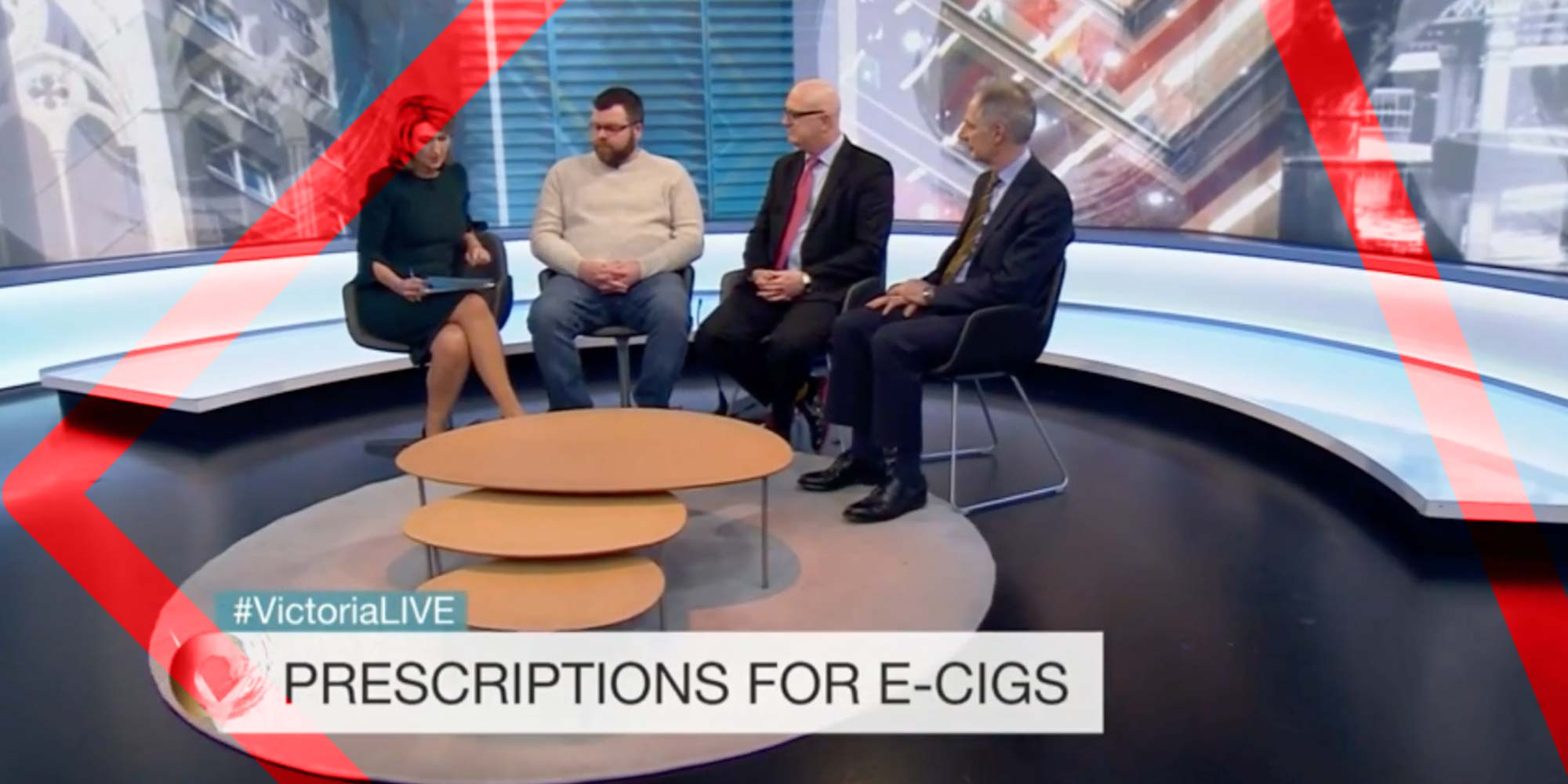 UKVIA's John Dunne on BBC Victoria Derbyshire show on Public Health England e-cigarette review