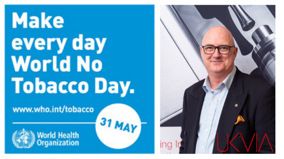 UKVIA writes to the Telegraph as WHO promote World No Tobacco Day whilst encouraging vaping bans