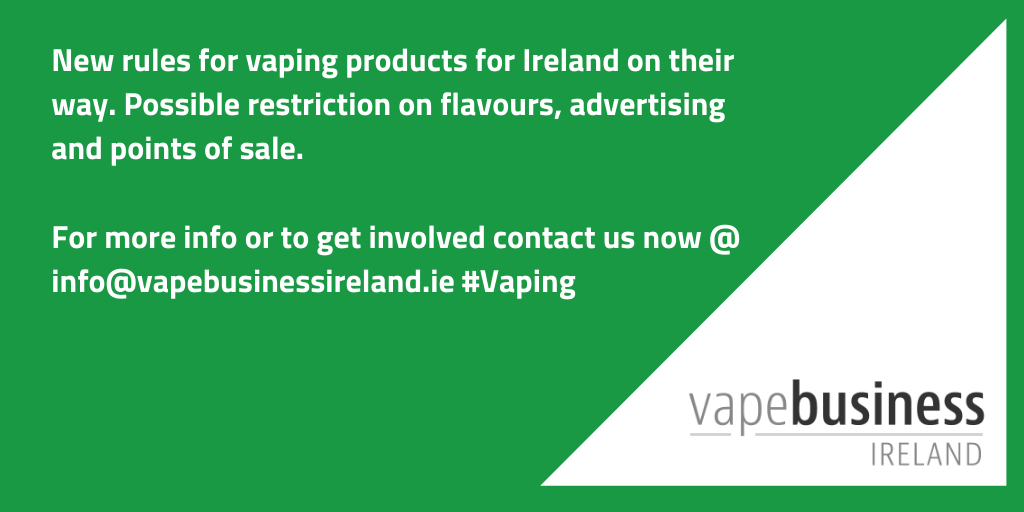 Ireland to introduce further restrictions on vaping through new Public Health Bill