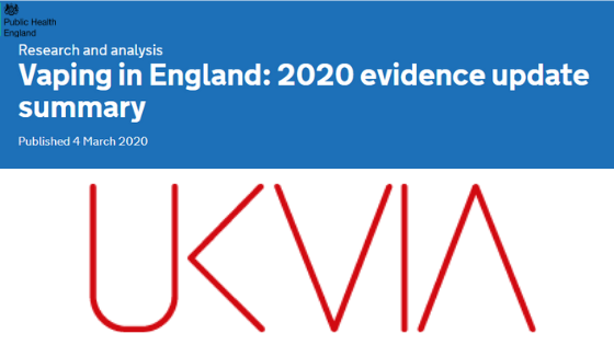 UK Vaping Industry Association (UKVIA) welcomes Public Health England's support for regulated vaping in its latest evidence review – and calls for misinformation over vaping to stop.