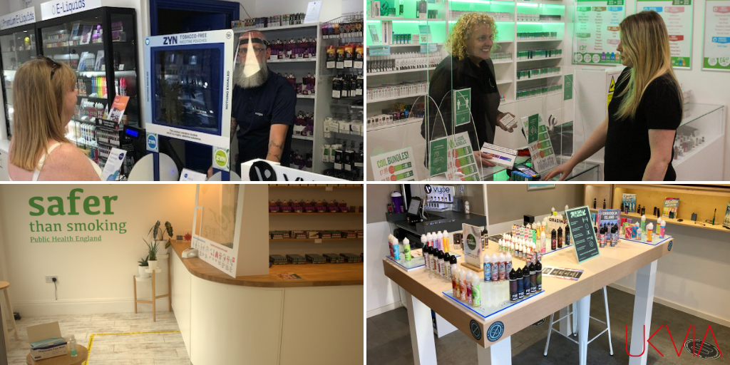 Vape retailers get back to business